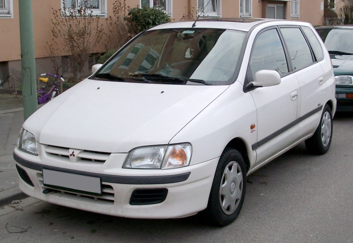 Mitsubishi Space Star on mitsubishi carisma