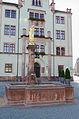 Mittweida, Markt, Brunnen-20150721-001.jpg