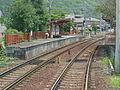 Miyake Hachiman station 20140712.JPG