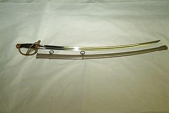 Model 1860 Light Cavalry Saber - 1860 saber