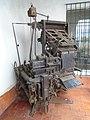 Modelo de linotipo adquirido por el diario La Unión a fines de los ´40 para mecanizar el proceso de composición de un texto; se utilizó hasta la década del ´80. .jpg