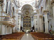Modica La chiesa di S Giorgio innen
