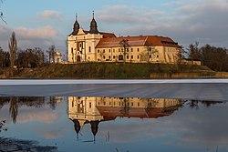 Mogilno klasztor zima 02