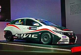 2012 Paris Motor Show - Honda Civic WTCC