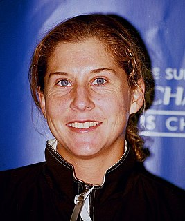 Monica Seles Yugoslav and American tennis player