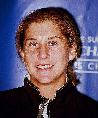 Monica Seles - Image: Monica Seles 1999