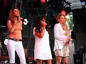 Monrose - Monrose performing at the ColognePride 2009 in July 2009.