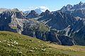 Mont de Seura, chedul y Cir Ciastel de chedul.JPG