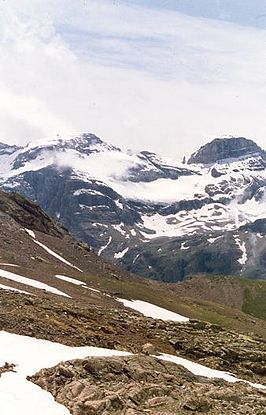 Monte Perdido in the Ordesa National Park