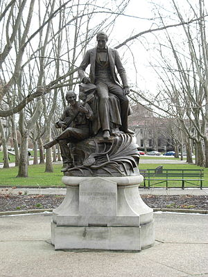 Giuseppe Moretti - Image: Monument to Stephen Foster