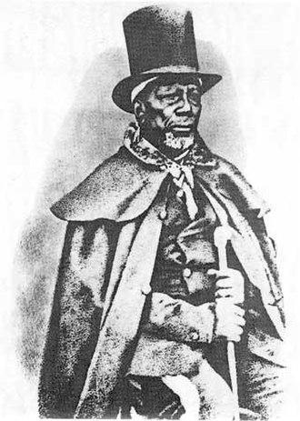 Battle of Naauwpoort - Moshoeshoe