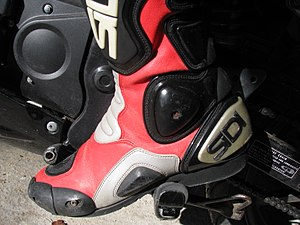 Motorcycle boot - A racing boot
