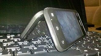 Motorola Backflip - Image: Motorola Backflip 1