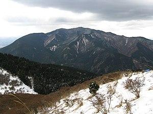 Kongō Range - Image: Mount Kongo(Kongosanchi)7