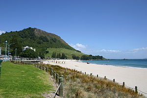 Mount Maunganui. Bay of Plenty, New Zealand.