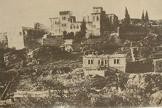 Saint John Eye Hospital Group - The hospital building in its early years (circa 1890s)