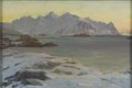 Mountains. Study from North Norway (Anna Boberg) - Nationalmuseum - 21358.tif