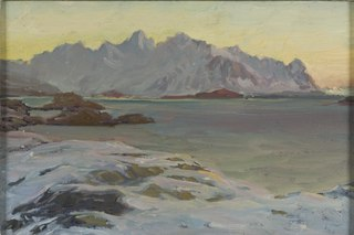 Mountains. Study from North Norway