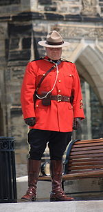 Mountie-on-Parliament-Hill