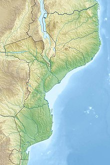 Monte Binga is located in Mozambique