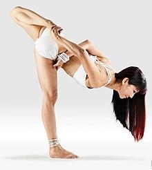 220px Mr yoga bound one legged unsupported forward bend yoga asanas Liste des exercices et position à pratiquer