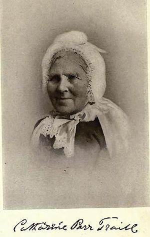 Catharine Parr Traill - Mrs Catharine Parr Traill by William James Topley