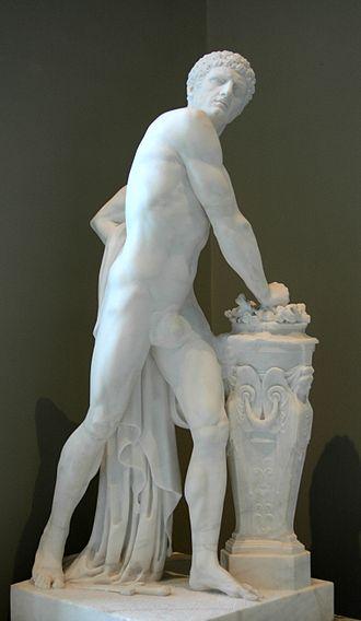 Gaius Mucius Scaevola - Mucius Scævola by Louis-Pierre Deseine, 1791, Louvre Museum