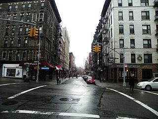 Mulberry Street (Manhattan) Street in Manhattan, New York