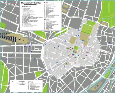 Map of Munich/Altstadt