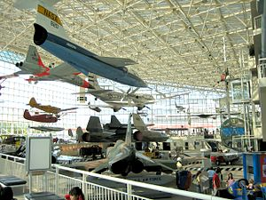 Museum of Flight - The museum's Great Gallery in 2005