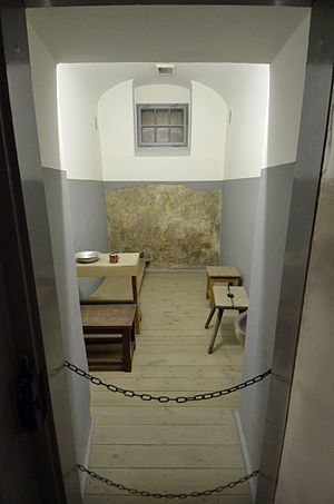Prison cell - 19th century prison cell in Pawiak, Warsaw