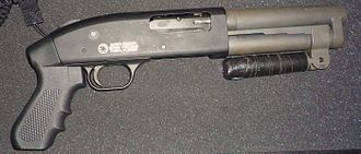 Title II weapons - The Serbu Super-Shorty pump-action shotgun, manufactured without a buttstock, is an AOW smooth-bore handgun, not an SBS.