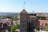 Nürnberg Sinwellturm Aussicht West 01.jpg