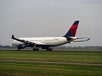 N855NW - A332 - Delta Air Lines