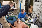 NASA Astronaut Kevin Ford trains with Ultrasound 2.jpg