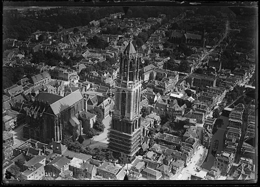 NIMH - 2011 - 0518 - Aerial photograph of Utrecht, The Netherlands - 1920 - 1940
