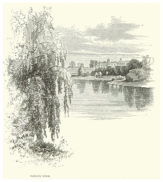 Harlem Meer - Image: NYC Central Park (1869) p 184 The Harlemer Meer