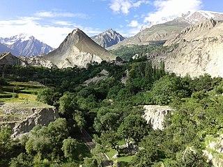 Nagarkhas Place in Gilgit–Baltistan, Pakistan