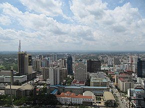 Nairobi, view from KICC.JPG