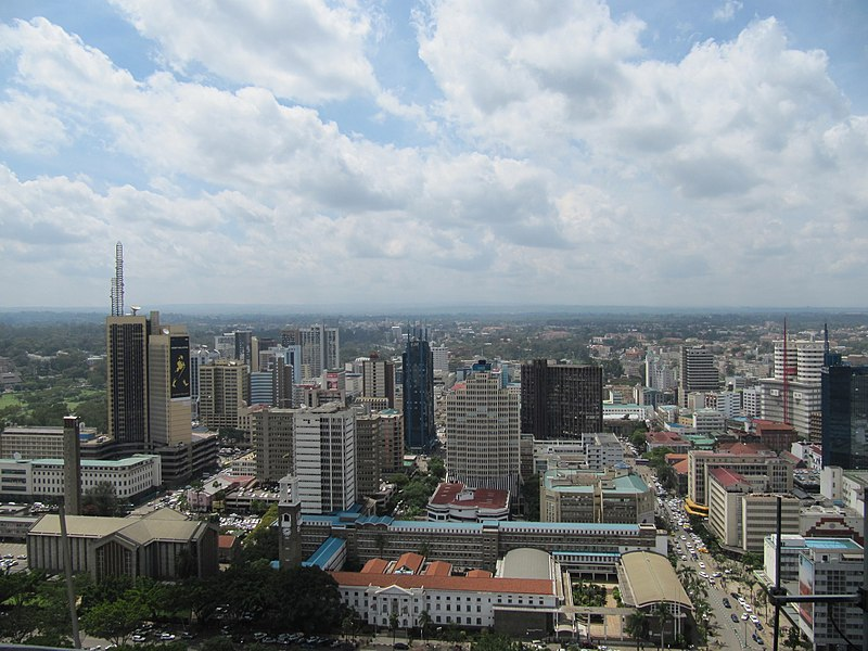File:Nairobi, view from KICC.JPG