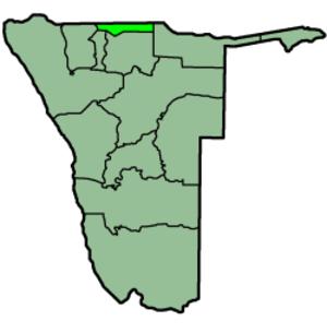 Ohangwena Region - Image: Namibia Regions Ohangwena 250px