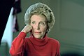 Nancy Reagan Photo Session with Chick Harrity of Us News and World Report Magazine in Map Room.jpg