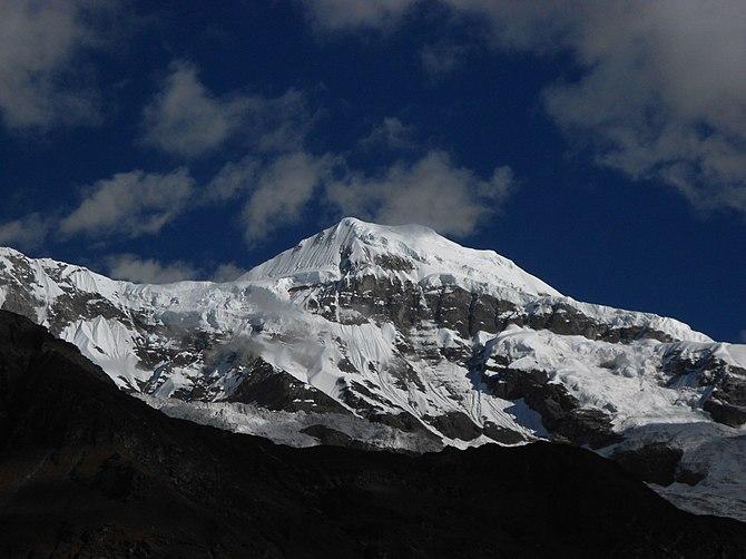 English: Nanda Khat (6611 m), Uttarakhand, Ind...