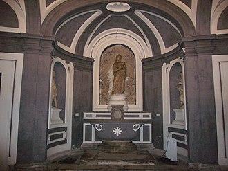 Santissima Annunziata Maggiore, Naples - Madonna in Inferior Church