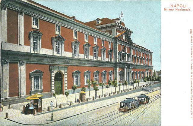 Le musée d'archéologie de Naples avant 1914.