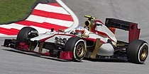 Narain Karthikeyan 2012 Malaysia Qualify.jpg