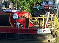 Narrowboat cat and dog - geograph.org.uk - 1772505.jpg