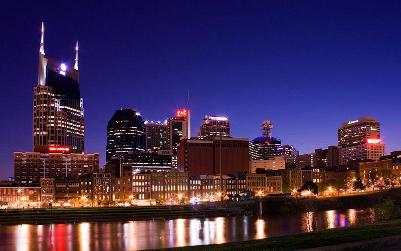 Nashville skyline 2009