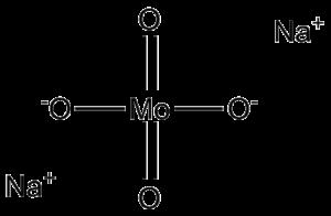 Sodium molybdate - Image: Natriummolybdaat