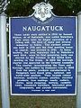Naugatuck town history sign 1.jpg